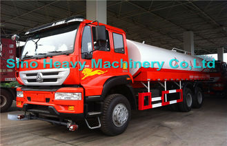 China Sinotruk SWZ 6*4 Water Tanker / Oil Tanker Truck with EURO III Emission supplier