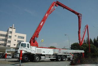 China 51m Boom Concrete Pumping Truck 600L Hopper Capacity OEM supplier