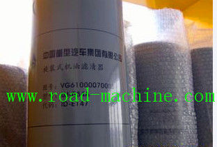 China VG6100070005 SINOTRUK HOWO SPARE PARTS HOWO TRUCK OIL FILTERS supplier