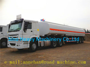 China HOWO A7 WITH 42M3 FUEL/OIL TANKER TRAILER supplier