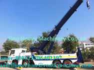 China Tow Truck Wrecker Howo Obstacle Tractor Truck 20 Ton Liftting Capacity Wrecker Tow Truck factory