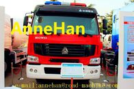 China HOWO 6x4 12m3 371HP Fire Fighting Truck Water Tank With Pumps Ladders EUROIII factory