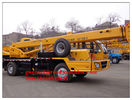 China Total Lifting 12000KG / 12T Capacity Truck Mount Crane Straight Boom factory