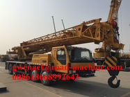 China XCMG Brand Truck Crane, Lifting Capacity 60T Telescopic Boom Crane Equipped on Stock factory