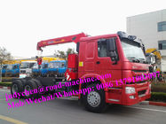 China 16T Truck Mounted  Crane /Lorry Crane/Truck With Crane/Pickup Truck, Right Hand Type Can Be Choosed factory
