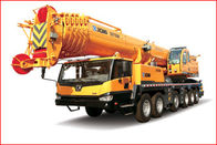 China Lifting 35000KG/35T Truck Telescoping Boom Crane 320HP Engine factory