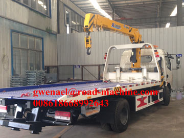 Roatation 360°  Knuckle Boom Truck Mounted Cranes Equipment 25000ton 37kw