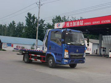 China 6 Tires Rotator Wrecker Tow Truck , 4x2 Trailer And Road Rescue Truck distributor