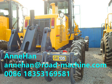 China Xcmg Motor Graders 100/2200kw/Rpm 8015×2380×3050mm 5,13,30km/H with front blade and Rear rippers distributor