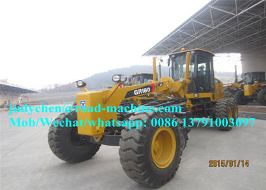 China Gr180 XCMG Motor Grader , with operating weight 15400kgs, Optional Cummins Engine And Zf Gear Box distributor