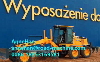 China Small Motor Graders , GR215 Blade Grader With Weichai Engine And Zf Gearbox distributor