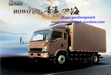 China 140 / 160hp 4 X 2 Light Duty Commercial Trucks , Four Cylinder Transport Truck distributor