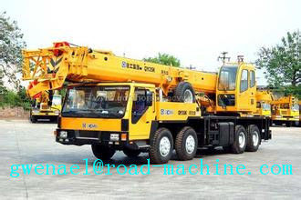 China Yellow Telescopic Boom Crane QY35K5 36930kg Truck Crane Energy - Saving distributor