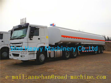 HOWO A7 WITH 42M3 FUEL/OIL TANKER TRAILER