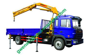 China XCMG Brand Truck Mount Crane / 3 Ton Knuckle Boom Truck with Sinotruk HOWO Chassis distributor